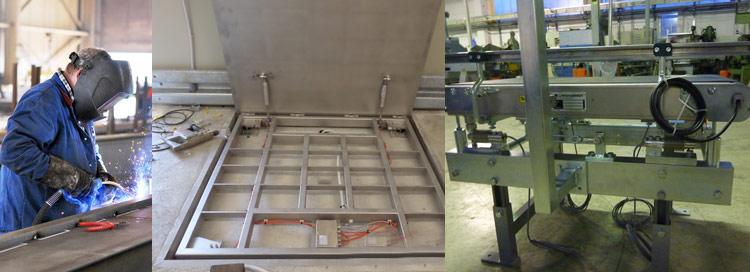 Planung & Herstellung & Montage von Waagen bei der ERNO Wägetechnik GmbH